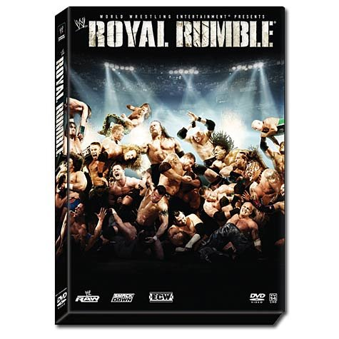 WWE - Royal Rumble 2007 New/Sealed DVD