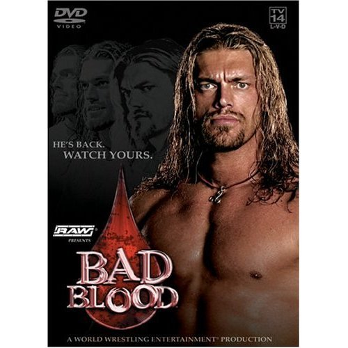 WWE Bad Blood 2004 New/Sealed DVD