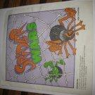 1988 Spider Wars Board Game Piece: Instruction Booklet