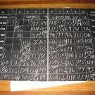 1964 Stocks & Bonds 3M Bookshelf Board Game Piece: Foldout Chalk Slate Board