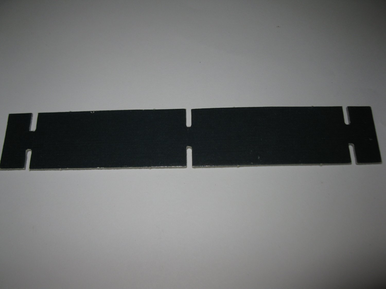1986 Hollywood Squares Board Game Piece: Black Cardboard Holder