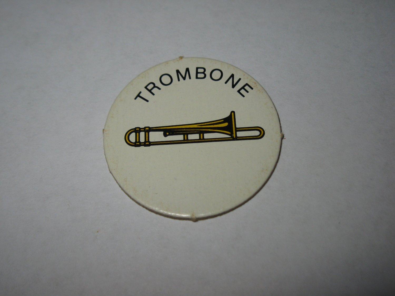 1983 Scavenger Hunt Board Game Piece: Trombone Circle Tab