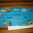 1972 Comic Card Board Game Piece: Beetle Bailey Player Station