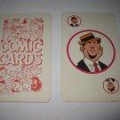 1972 Comic Card Board Game Piece: single Hi Player Card
