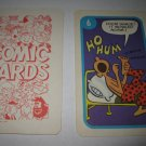 1972 Comic Card Board Game Piece: Beetle Bailey Cartoon Card #6