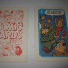 1972 Comic Card Board Game Piece: Beetle Bailey Cartoon Card #4