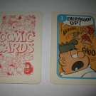 1972 Comic Card Board Game Piece: Beetle Bailey Cartoon Card #3