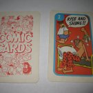 1972 Comic Card Board Game Piece: Beetle Bailey Cartoon Card #2