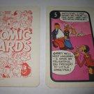 1972 Comic Card Board Game Piece: Popeye Cartoon Card #5