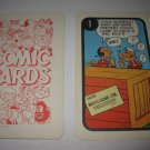 1972 Comic Card Board Game Piece: Popeye Cartoon Card #1