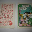 1972 Comic Card Board Game Piece: Blondie Cartoon Card #4