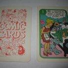 1972 Comic Card Board Game Piece: Blondie Cartoon Card #1