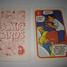1972 Comic Card Board Game Piece: Hi and Lois Cartoon Card #3