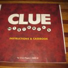 2005 Clue Mysteries Board Game Piece: Instruction Book