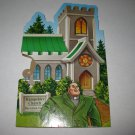 2005 Clue Mysteries Board Game Piece: Hampshire Church green House