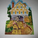 2005 Clue Mysteries Board Game Piece: Mustard Lodge yellow House