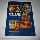 2003 Clue FX Board Game Piece: Instruction Booklet