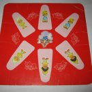 1981 Strawberry Shortcake 'Berry Go Round' Board Game Piece: Game Player Square #2