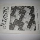 Scrabble Board Game Piece: Instruction booklet