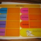 1977 Laverne & Shirley Board Game Piece: Game player cardback