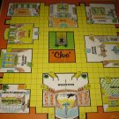 1963 Clue Board Game Piece: Game Board