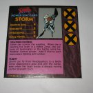 1992 Uncanny X-Men Alert! Board Game Piece: Storm Player Stat Card
