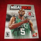 NBA 2K9 : Playstation 3 PS3 Video Game Instruction Booklet