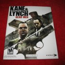 Kane & Lynch Dead Men : Playstation 3 PS3 Video Game Instruction Booklet
