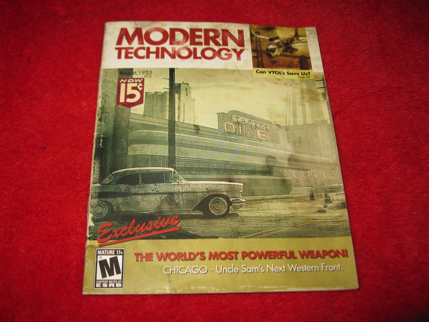 Modern Technology : Playstation 3 PS3 Video Game Instruction Booklet