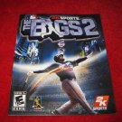 The Bigs : Playstation 3 PS3 Video Game Instruction Booklet