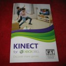Kinect System: Xbox 360 Video Game Instruction Booklet