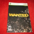 Wanted, Weapons of Fate : Xbox 360 Video Game Instruction Booklet