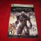 Quake Wars, Enemy Territory : Xbox 360 Video Game Instruction Booklet