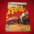Midnight Club Los Angeles : Xbox 360 Video Game Instruction Booklet