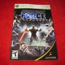 Star Wars The Force Unleashed : Xbox 360 Video Game Instruction Booklet