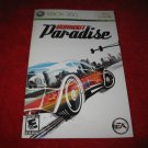 Burnout Paradise : Xbox 360 Video Game Instruction Booklet