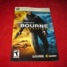 The Bourne Conspiracy : Xbox 360 Video Game Instruction Booklet