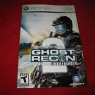 Ghost Recon Advanced Warfighter 2: Xbox 360 Video Game Instruction Booklet