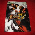 Street Fighter IV : Xbox 360 Video Game Instruction Booklet