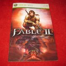 Fable II : Xbox 360 Video Game Instruction Booklet