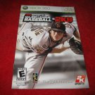 2KSports Major League Baseball 2K9 : Xbox 360 Video Game Instruction Booklet
