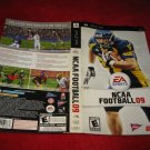 NCAA Football 09 : Playstation Portable PSP Video Game Case Cover Art insert