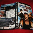 Smackdown vs Raw 2008 : Playstation Portable PSP Video Game Case Cover Art insert