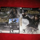 Pirates of the Caribbean World's End: Playstation 2 PS2 Video Game Case Cover Art insert