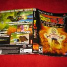 Dragonball Z Budokai Tenkaichi : Playstation 2 PS2 Video Game Case Cover Art insert