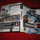 Madden 08 : Playstation 2 PS2 Video Game Case Cover Art insert