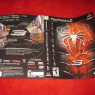 Spider-Man 3 : Playstation 2 PS2 Video Game Case Cover Art insert