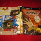 Avatar the Last Airbender : Playstation 2 PS2 Video Game Case Cover Art insert