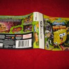 Spongebob Squarepants Globs of Doom: Nintendo DS Video Game Case Cover Art insert