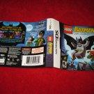 Lego Batman : Nintendo DS Video Game Case Cover Art insert